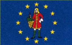 Flaggge der Weinrepublik Grinzing